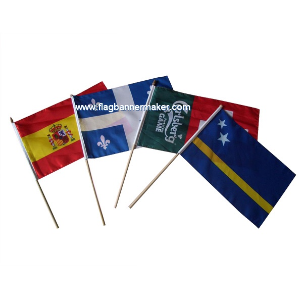 Country stick flags
