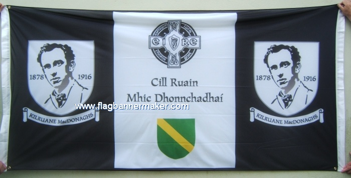 Polyester banner