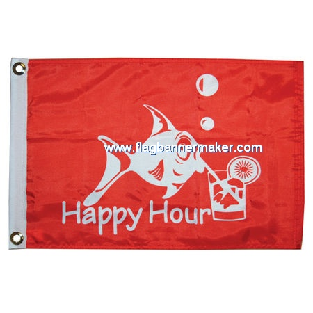 Custom printed polyester flag