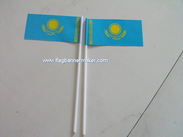 Custom mini stick flags