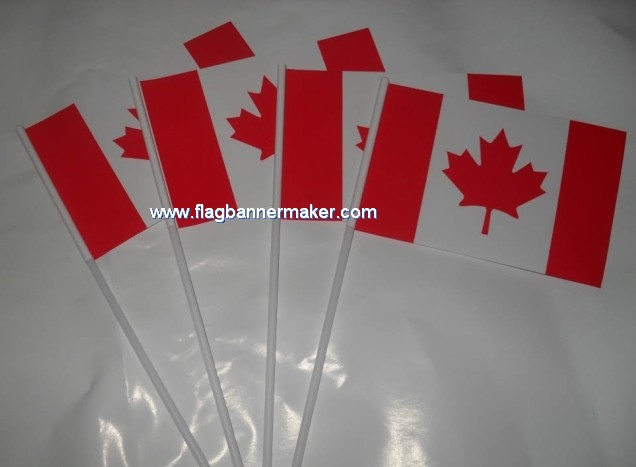 Event hand waving flags