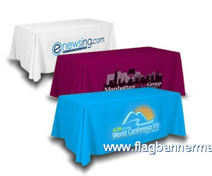 6 feet table banners