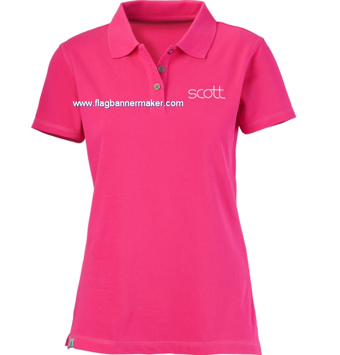 Custom logo polo shirt