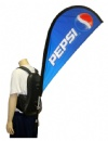 Event backpack flags