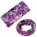 Multifunctional seamless scarf