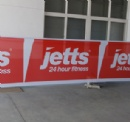 Mesh Windscreen Banners