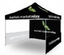 Printed pop up gazebo