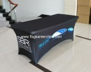 Custom stretch table cover